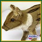 HANSA ハンサ ぬいぐるみ 4853 赤ちゃんイノシシ 13 WILD PIG BABY