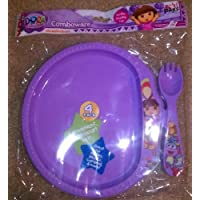 Dora the Explorer Combware ZAK Plate Fork Set by Dora the Explorer