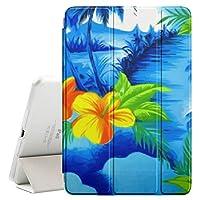 graphic4youハワイアンハワイ超スリムケーススマートカバースタンド[スリープ/スリープ解除機能]付きApple iPad 2017( 9.7インチ)