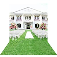 GooEoo 教会の結婚式10×15FT(300×450CM)絵布カスタマイズされた写真の背景背景スタジオ支柱GQ03