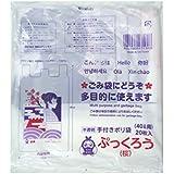 信防エディックス ぷっくろう(桜) 多目的袋 40ℓ用 20枚入