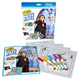 Crayola Frozen 2 Color Wonder Mess Free Coloring Glitter Paper and Markers