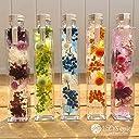 liLYS épice ハーバリウム プリザーブドフラワー 花 ギフト プレゼント お祝い ごとに スクエアタイプ ラッピング 日本製 (マンダリンオレンジ)