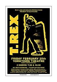 (ローシュガーアートスタジオ) Raw Sugar Art Studio T Rex 1972 クリーブランドコンサートポスター