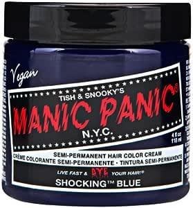 マニックパニック カラークリーム ショッキングブルー