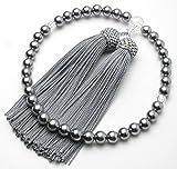 ★念珠堂★ 黒貝パール 女性用数珠 頭付房 全ての宗派で使える 女性用念珠 数珠 女性用