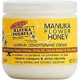 パーマーのマヌカ式マヌカの花の蜂蜜のリーブインコンディショニングクリーム190グラム x2 - Palmer's Manuka Formula Manuka Flower Honey Leave-In Conditioning...