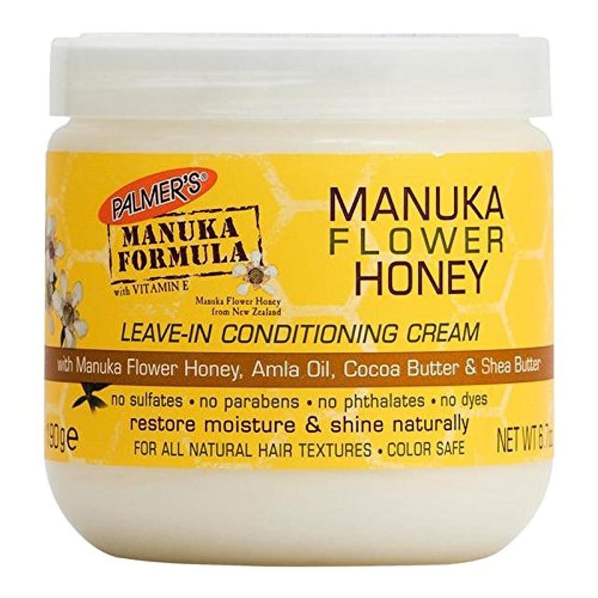 プロジェクター入口和Palmer's Manuka Formula Manuka Flower Honey Leave-In Conditioning Cream 190g - パーマーのマヌカ式マヌカの花の蜂蜜のリーブインコンディショニングクリーム...