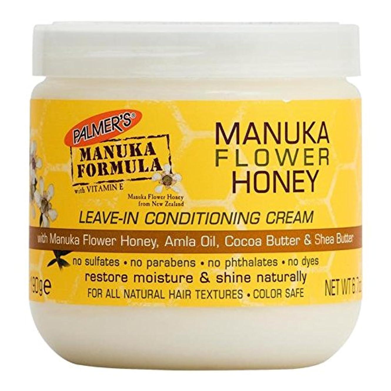 反毒検索征服者Palmer's Manuka Formula Manuka Flower Honey Leave-In Conditioning Cream 190g (Pack of 6) - パーマーのマヌカ式マヌカの花の蜂蜜のリーブインコンディショニングクリーム...