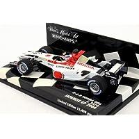 【ミニチャンプス】1/43スケールホンダ  F1チーム B?A?R Honda 006 #10 佐藤琢磨 (400_040110)MINICHAMPS F1