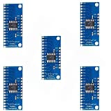 Ximimark 5Pcs 16CH Analog Digital Multiplexer Breakout Board Module CD74HC4067 CMOS Precise Module for Arduino