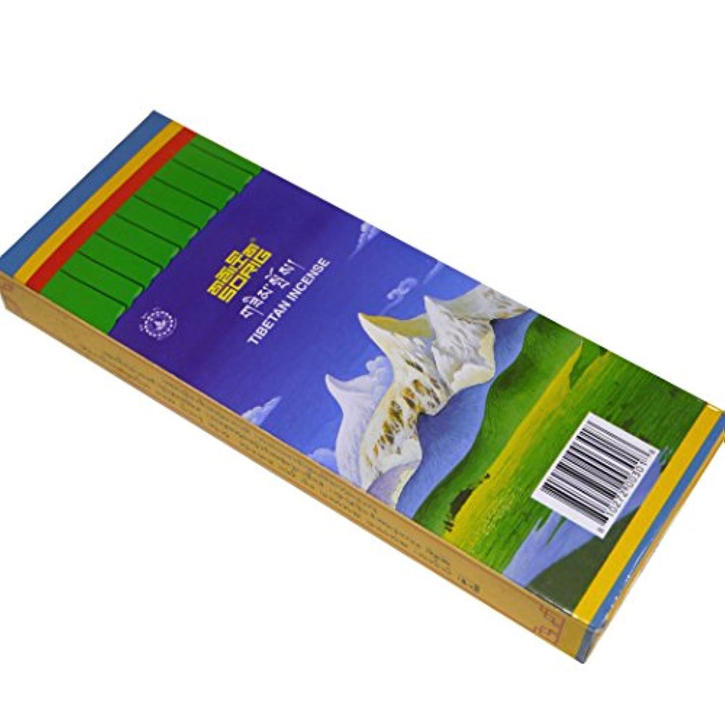 かご新年一時停止メンツィーカン チベット医学暦法研究所メンツィーカンのお香【SORIGソリグ ビッグ】