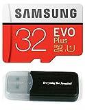 Samsung Galaxy s9メモリカード32?GB Micro SDHCクラス10?UHS - 1?s9?Evo Plus Plus、s9?+、携帯電話スマートフォンwith Everything But Stromboli (TM) カードリーダー(mb-mc32?)