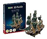 ドイツレベル ミニ3Dパズル 海賊船 (ペーパークラフト) 00115