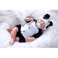 oumeinuo Rebornベビー人形ソフトSiliconeビニール20インチLovely Lifelikeベビー少年少女少年玩具かわいい人形