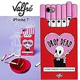 Valfreヴァルフェー(LA直輸入)3D iPhone iPhone7対応 シリコンカバー Drop Dead /携帯ケース (iPhone7)
