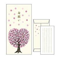 リュリュ お祝い金封 【HLPB-04】 桜の木