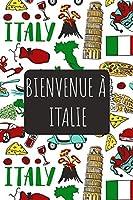 Bienvenue à Italie: 6x9 Carnet de voyage I Journal de voyage avec instructions, Checklists et Bucketlists, cadeau parfait pour votre séjour   et pour chaque voyageur.