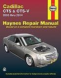 ヘインズ整備書「キャディラック CTS & CTS-V (2003〜2014年モデル)」リペアマニュ