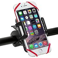 自転車用スマホホルダー 簡単取付け 360回転可 シリコンパッド付き 脱落防止 iPhone/Xperia/Galaxyなど 多機種携帯対応 Tokoto TT-HO419