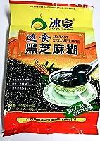 黒芝麻糊 Soyspring Instant Sesame Paste 480g 速食 冰泉牌 黒色食品 内有12小包