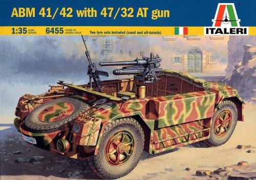 イタリア ABM41/42 対戦車砲搭載型 38455 (タミヤ イタレリ 1/35 ミリタリーシリーズ 6455)