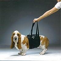 WalkAbout 胴体用 歩行補助ハーネス ML ペット介護 足腰 歩行力が弱くなった愛犬のサポート 調節可能 マジックテープ バックル