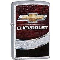 ZIPPO(ジッポ) オイルライター Chevrolet(シボレー) サテンクローム 29318