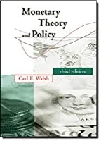 Monetary Theory and Policy (The MIT Press)