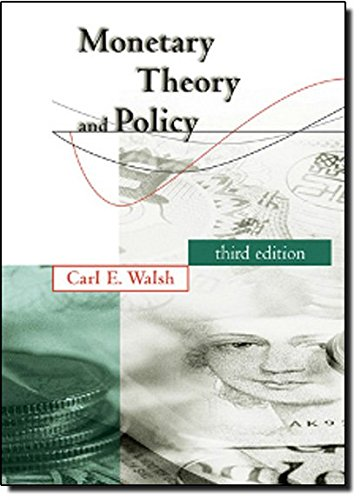 Monetary Theory and Policy (MIT Press)の詳細を見る