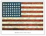 ポスター ジャスパー ジョーンズ Flag 1954