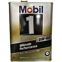 Mobil エンジンオイル モービル1 0W-40 SN 4L 117491