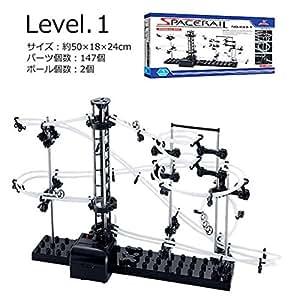 COM-SHOT 【 楽しい 】 New スペース レール 組立式 【 Level 1 】 知育玩具 MI-NEWSPE-1