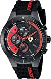 [フェラーリ]Ferrari 腕時計 REDREV EVO Analog Display Japanese Quartz Black Watch 0830260 メンズ [並行輸入品]