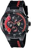 フェラーリ Ferrari Men's 0830260 REDREV EVO Analog Display Quartz Black Watch [並行輸入品] (¥ 28,000)