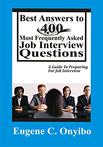 amazon best answers to 400 most frequently asked job interview