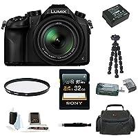 Panasonic Lumix DMC - fz100016x Longズームデジタルカメラ(ブラック)
