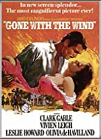 ポスター ノーネーム Gone with the Wind 額装品 アルミ製ハイグレードフレーム(シルバー)