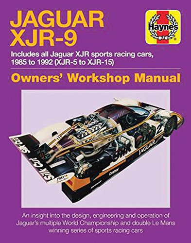 Jaguar XJR-9 (Owners' Workshop Manual)