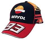 [ MOTO GP ] モトGP マルク・マルケス レプソル ホンダ オフィシャル レプリカ CAP