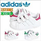 (アディダス)adidas スニーカー STAN SMITH CF I スタンスミス B32704 M20609 US9.5K-16.0 WHITE/GREEN(M20609) (並行輸入品)