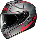 ショウエイ(SHOEI) バイクヘルメット フルフェイス GT-AIR PENDULUM(ペンデュラム) TC-10 (GREY/RED) L (頭囲 59cm)