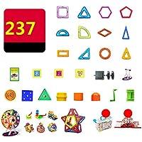 マグネット 磁石 磁気おもちゃ 237件 知育玩具 想像力と創造力を育てる 男の子 女の子 子供おもちゃ磁石ブロック キッズ 誕生日 クリスマス 新年 プレゼント DIY 積み木