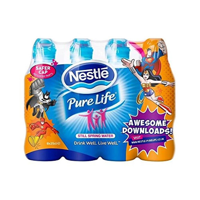 因子ジョージバーナード南極純粋な生命の子供たちはまだ水8×250ミリリットル (Nestle) - Nestle Pure Life Kids Still Water 8 x 250ml