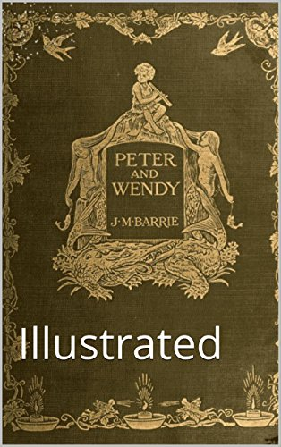 amazon peter and wendy illustrated english edition kindle