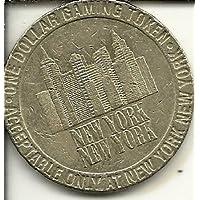 ニューヨーク?ニューヨーク1997カジノトークンコイン1ドルラスベガスネバダ州Obsolete
