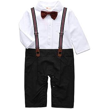 f39c80eae47a5 タキシード フォーマル ロンパース スーツ 蝶ネクタイ スタイル 0歳 1歳 2歳 70cm 80cm 90cm