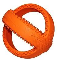 Grubber 犬のおもちゃ 投げる玩具 噛む玩具 フットボール