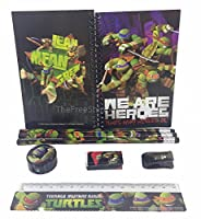 Teenage Mutant Ninja Turtle Stationary Set for Kids Black [並行輸入品]