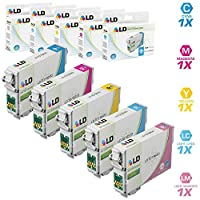 LD ? Remanufactured Replacement for Epson T079 Set of 5 High Yield Ink Cartridges Includes: 1 T079220 Cyan, 1 T079320 Magenta, 1 T079420 Yellow, 1 T079520 Light Cyan, and 1 T079620 Light Magenta for use in Artisan 1430, and Stylus Photo 1400 Printers [並行輸入品]
